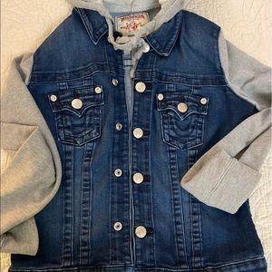 True Religion Jean Jacket size Medium